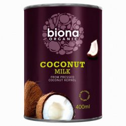 Biiona Coconut Mil 400ml