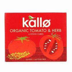 Kallo Tomato & Herb Stock Cubes
