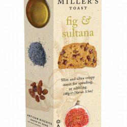 Millers Toast Fig & Sultana