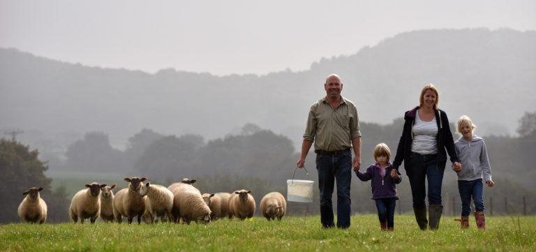 A family run farm shop