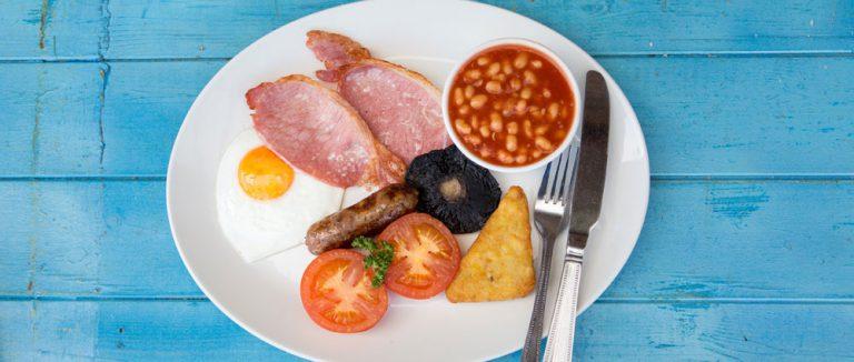 Udder Farm Shop Breakfast